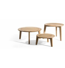 OASIQ OASIQ Attol teak-houten bijzettafel 70x70cm