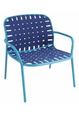 EMU EMU Yard Lounge Tuinstoel Blauw Outlet
