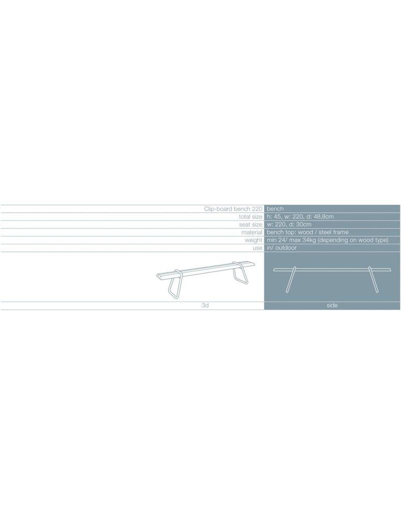 Lonc Lonc Clip-board Picnic bank 220