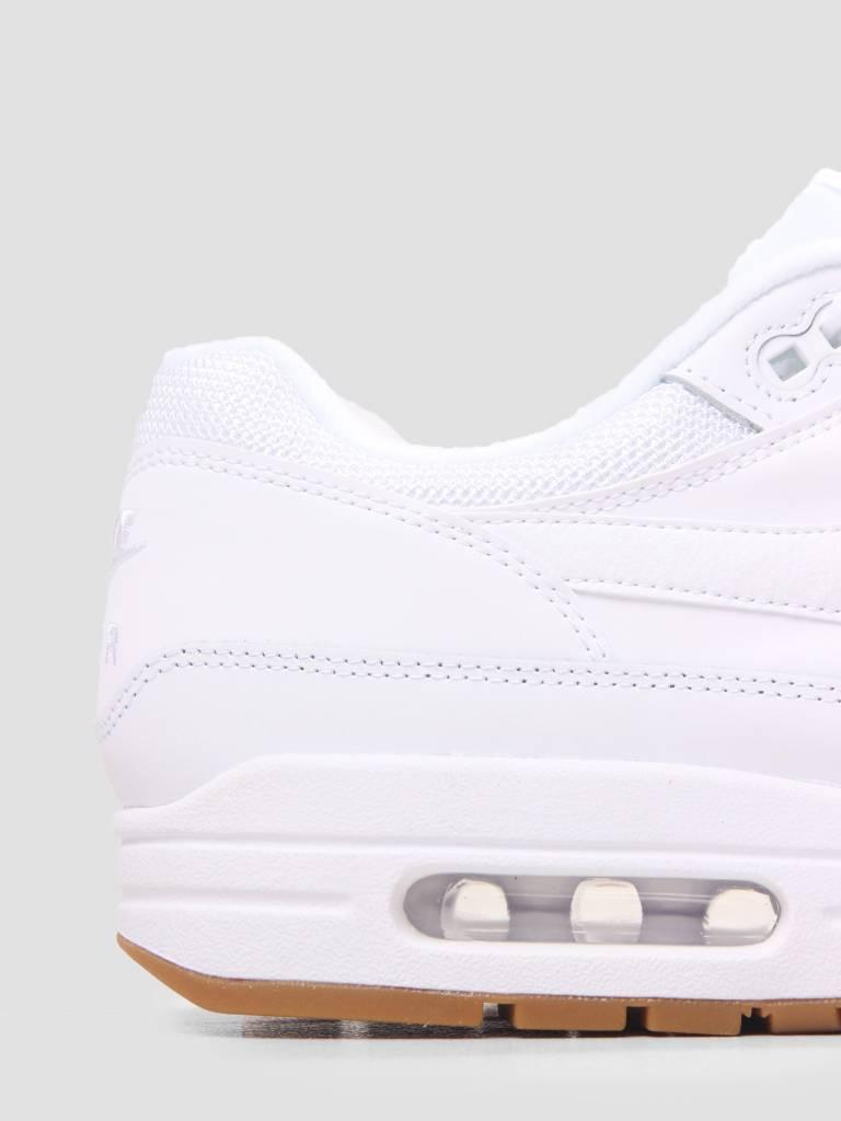 Nike Nike Air Max 1 Shoe White White-White-Gum Med Brown AH8145-109