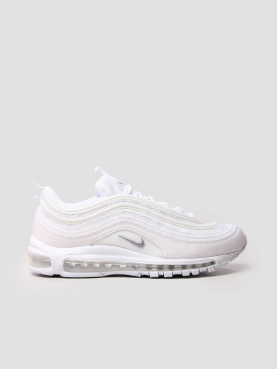 Nike Air Max 97 Shoe White Wolf Grey Black 921826-101
