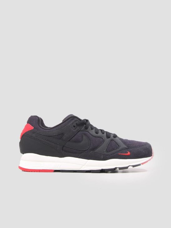 Nike Air Span II SE Oil Grey Black-University Red-Sail AQ3120-002