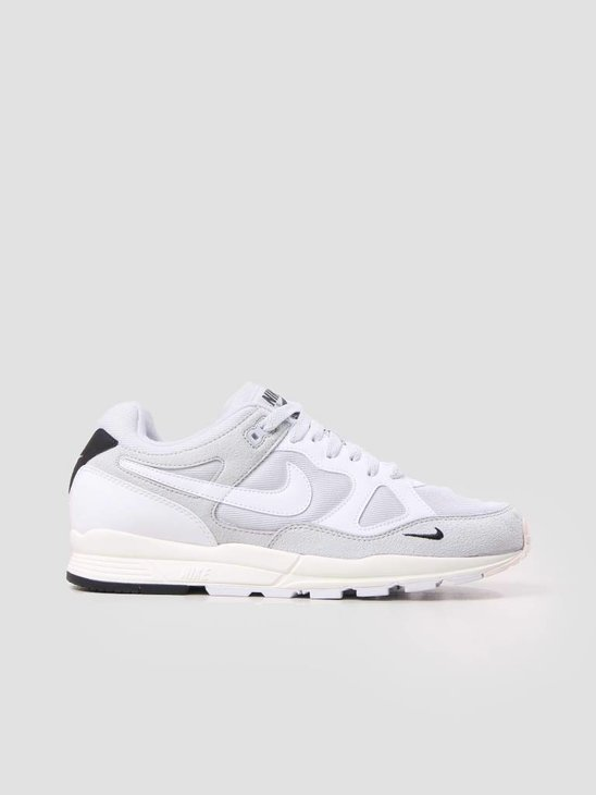 Nike Air Span II SE Pure Platinum White-Black-Sail AQ3120-001