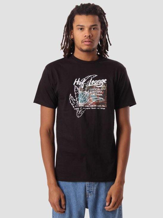 HUF Al Fresco T-Shirt Black TS00664