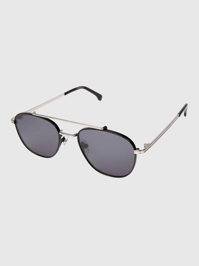 Komono Komono Alex Sunglasses Silver/Black Kom-S3502