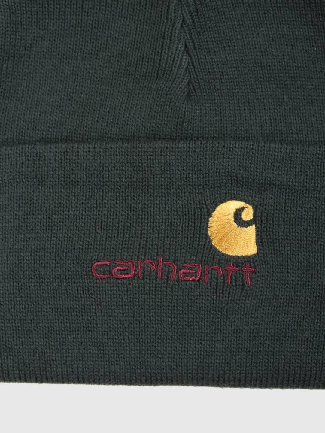 Carhartt WIP Carhartt WIP American Script Beanie Loden I025386-88500