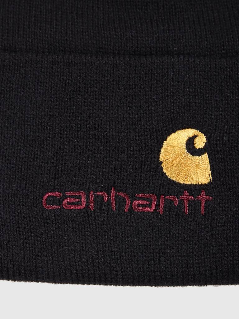 Carhartt WIP Carhartt WIP American Script Beanie Black I025386-8900
