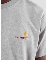 Carhartt Carhartt American Script T-Shirt Grey Heather I025711-V600