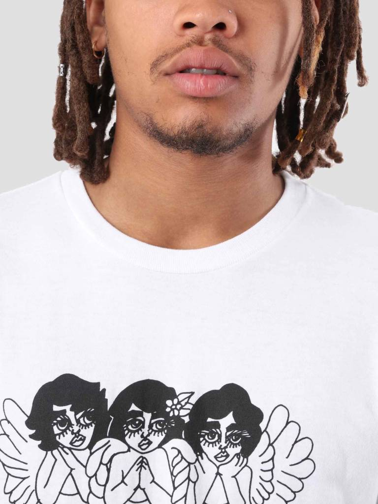 Obey Obey Angels T-Shirt White 163081835