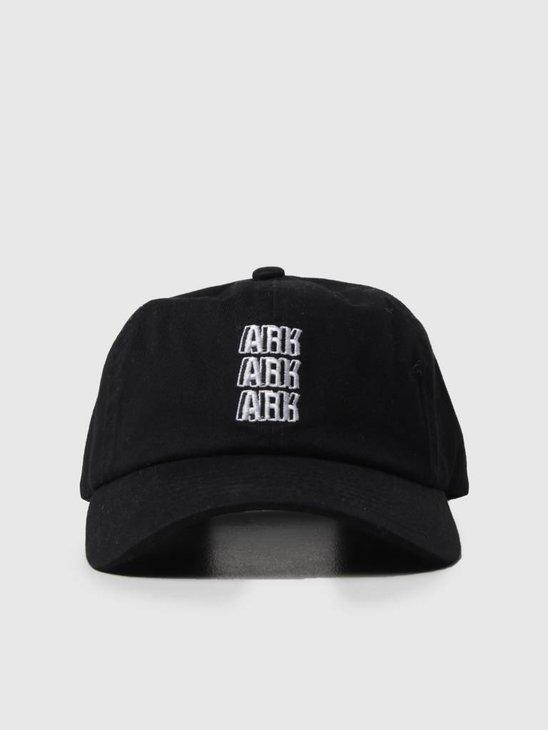 Noahs Ark Ark Ark Ark Dad Cap Black