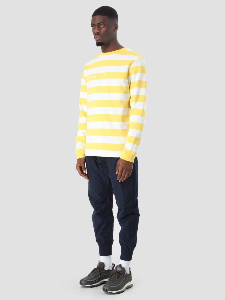 Daily Paper Daily Paper Astripe Longsleeve Yellow NOST17