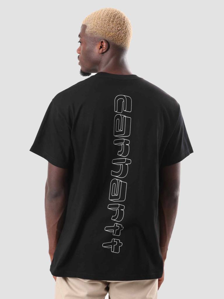 Carhartt Carhartt Backdrop T-Shirt Black White I025302-8990