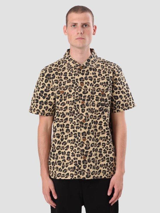 Stussy Bdu Shirt Leopard 111990
