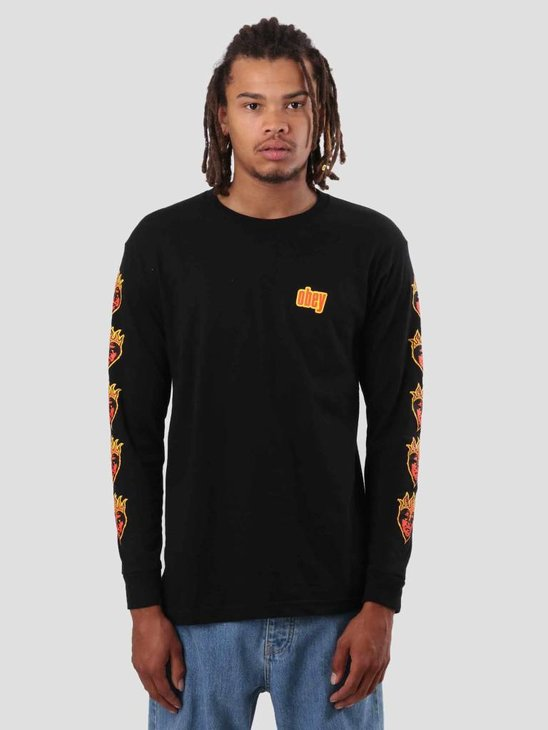 Obey Be Mine Longsleeve Black 164901775