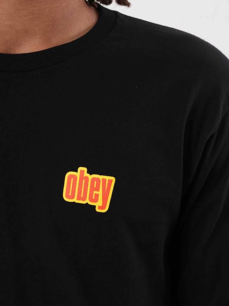 Obey Obey Be Mine Longsleeve Black 164901775