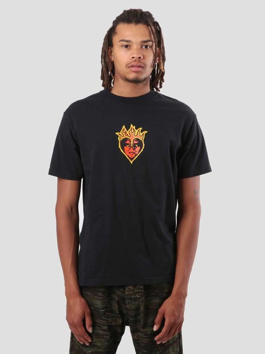 Obey Be Mine T-Shirt Off Black 166911775