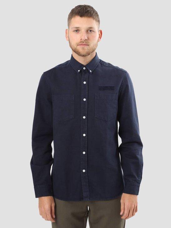 Foret Bear Shirt Navy F037