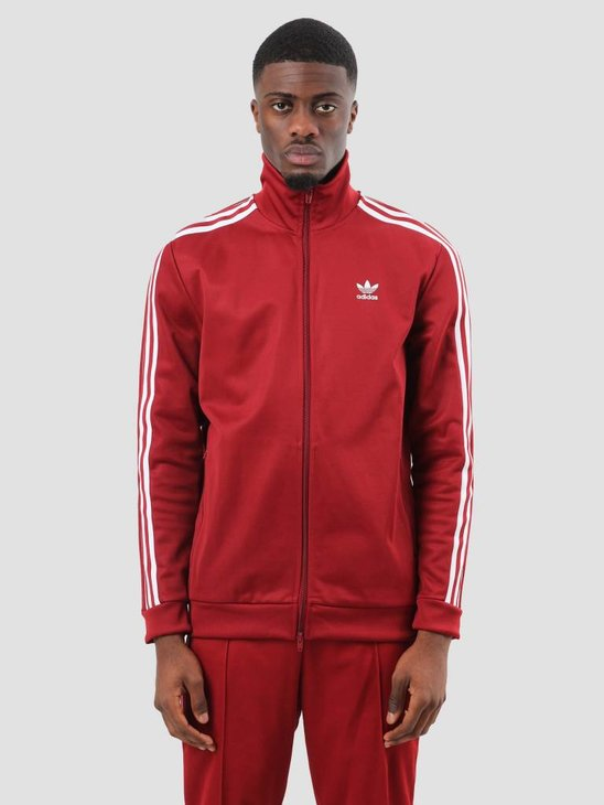 adidas Beckenbauer Track Top Rus Red CW1251