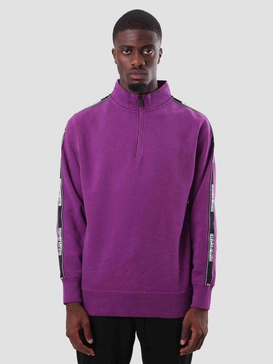 NAPAPIJRI Beja Fleece Mid Purple N0YHU9V44
