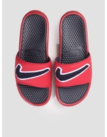 Nike Nike Benassi Just Do It. Chenille Gym Red Obsidian-White-Dark Obsidian AO2805-600