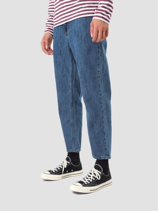 Obey Bender 90's Denim Pants Stone Wash Indigo 142010050 Stn