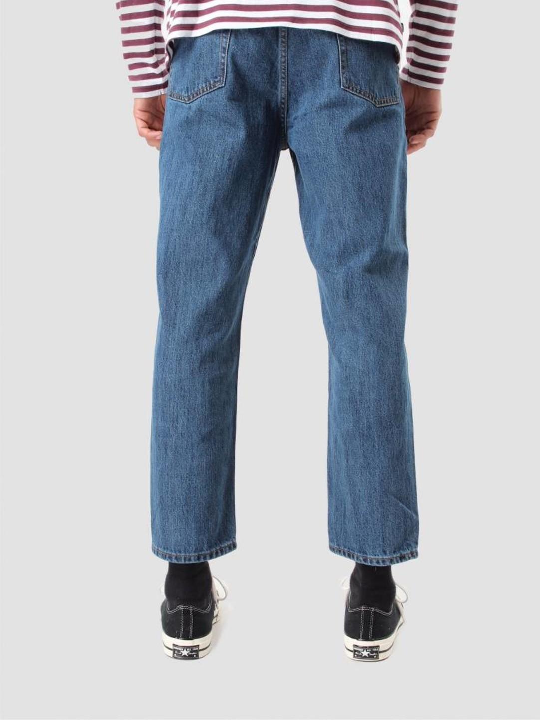 Obey Obey Bender 90's Denim Pants Stone Wash Indigo 142010050 Stn