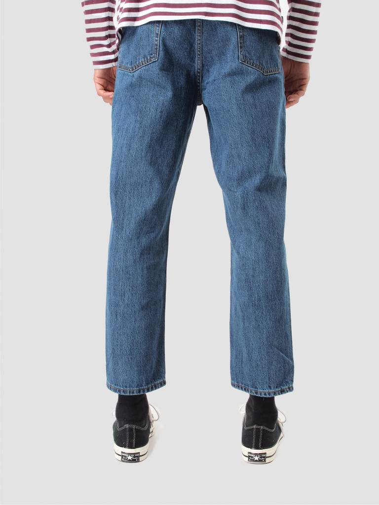 Obey Obey Bender 90's Denim Pants Stone Wash Indigo 142010050 Stn