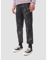 Obey Obey Bender 90's Overdye Denim Pants Bleached Black 142010049 Bla