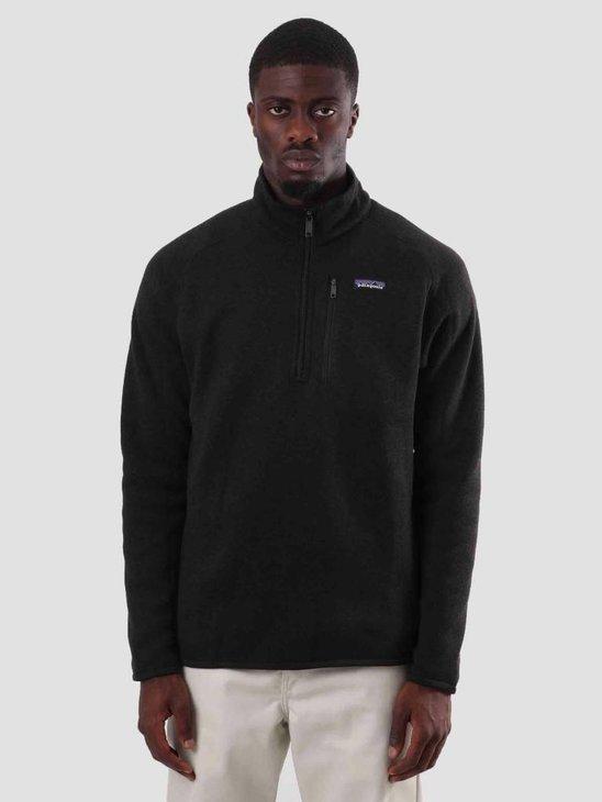 Patagonia Better Sweater 1-4 Zip Black 25522