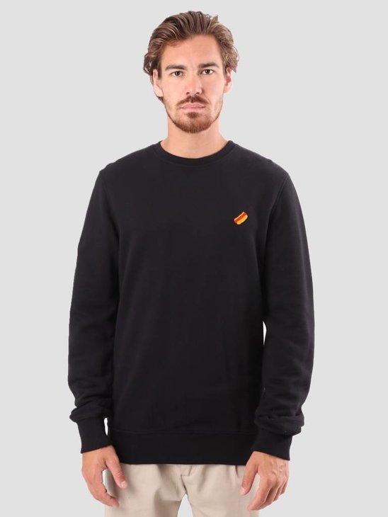RVLT Bjarke Printed Sweatshirt Black 2555