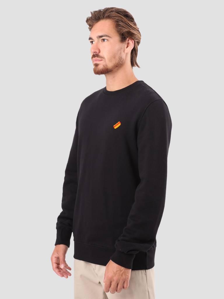 RVLT RVLT Bjarke Printed Sweatshirt Black 2555