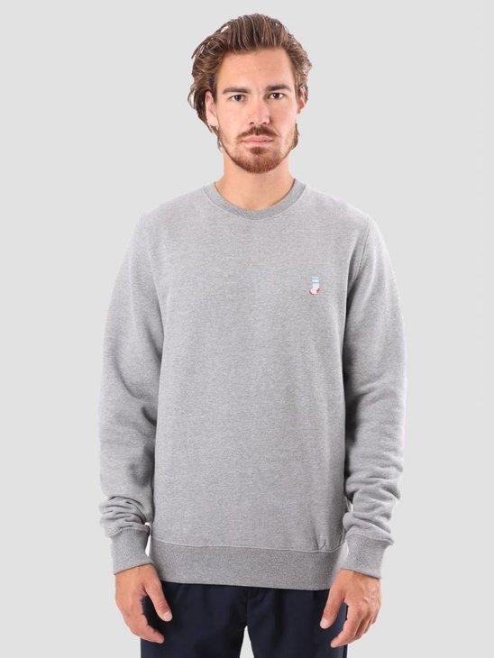 RVLT Bjarke Printed Sweatshirt Grey 2554