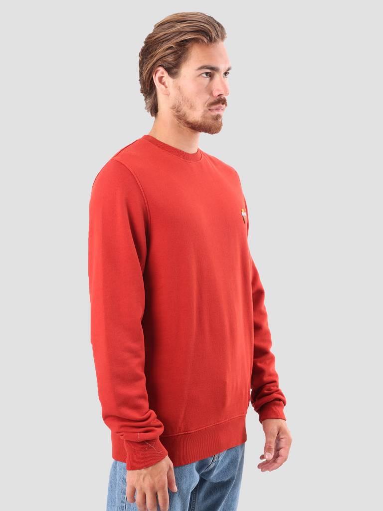 RVLT RVLT Bjarke Printed Sweatshirt Red 2555