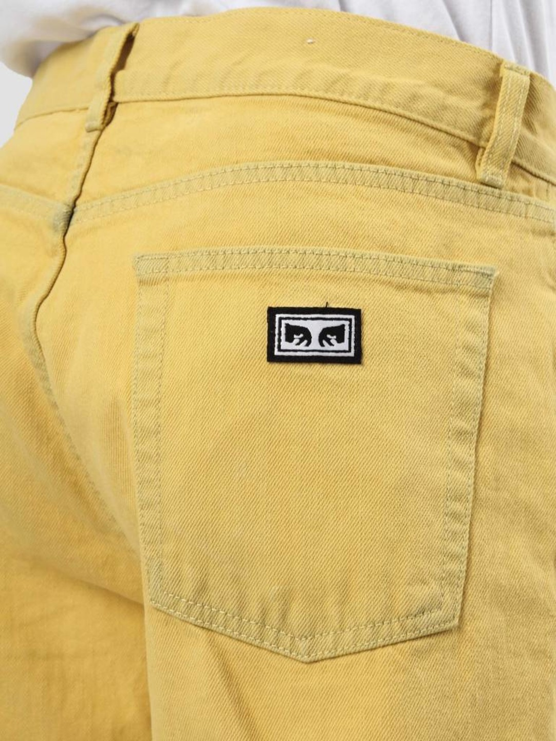 Obey Obey Blender Overdyed Denim Yellow 142010061