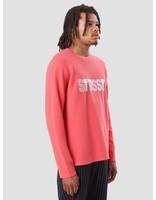 Stussy Stussy Bluto Longsleeve Crew Pink 1140079