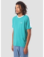 Obey Obey Borstal Box T-Shirt Teal 131080224