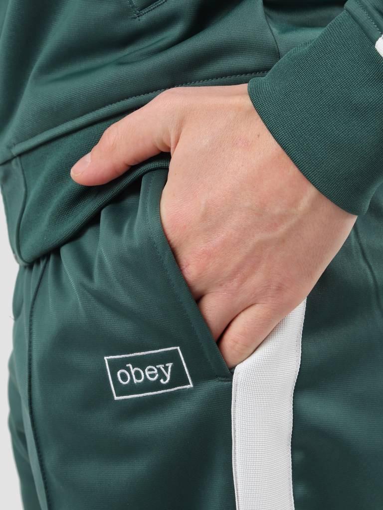 Obey Obey Borstal Track Pant Teal 142020109