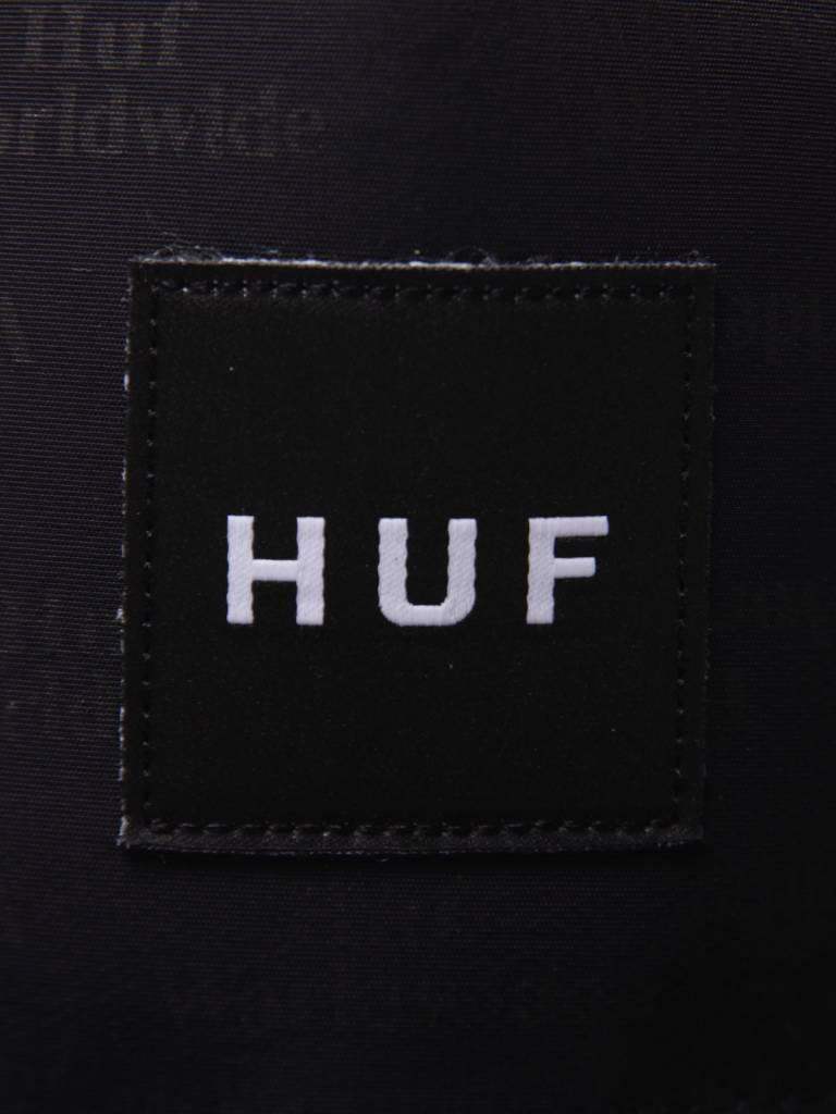HUF HUF Box Logo Jacquard Snapback Hat Black HT00165