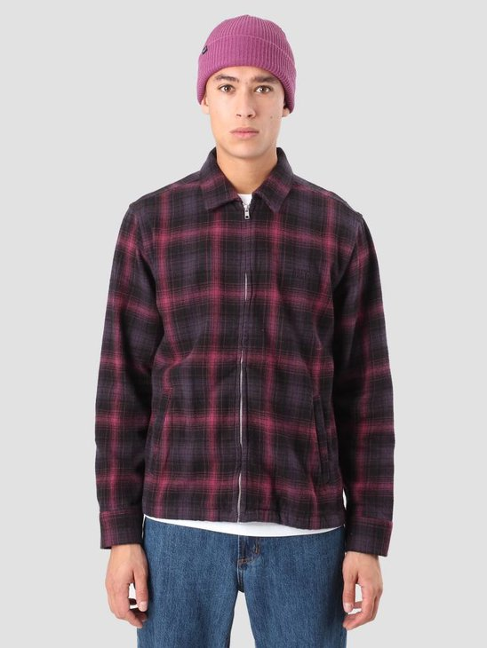 Obey Bristol Jacket Black Multi 121160009 Bkm