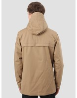 RVLT RVLT Brushed Hooded Jacket Light Khaki 7002
