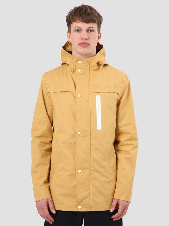 RVLT Brushed Hooded Jacket Light Yellow 7002