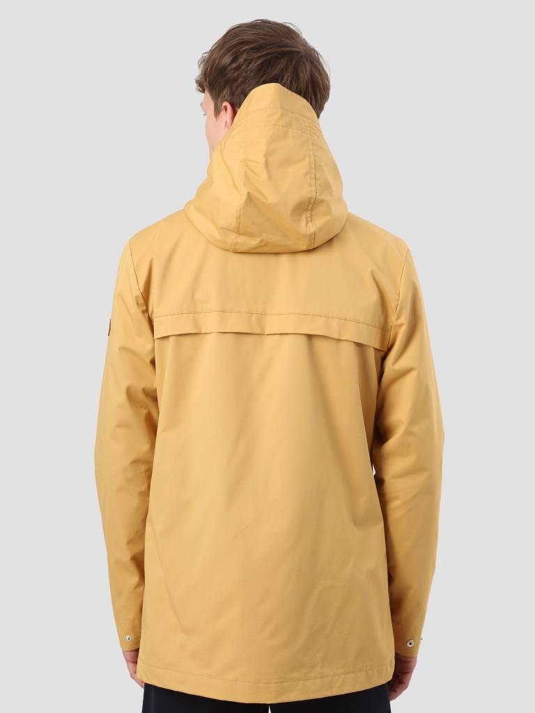 RVLT RVLT Brushed Hooded Jacket Light Yellow 7002