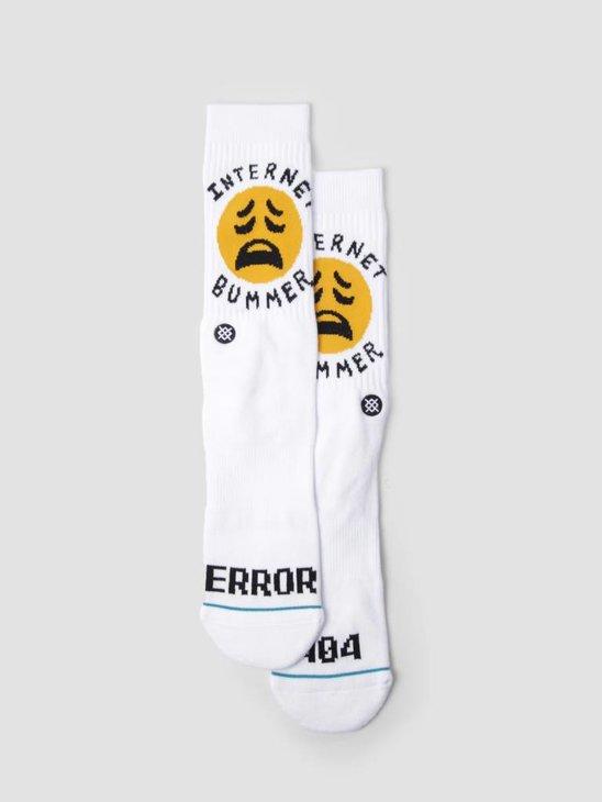 Stance Bummer Socks White M545A18BUM