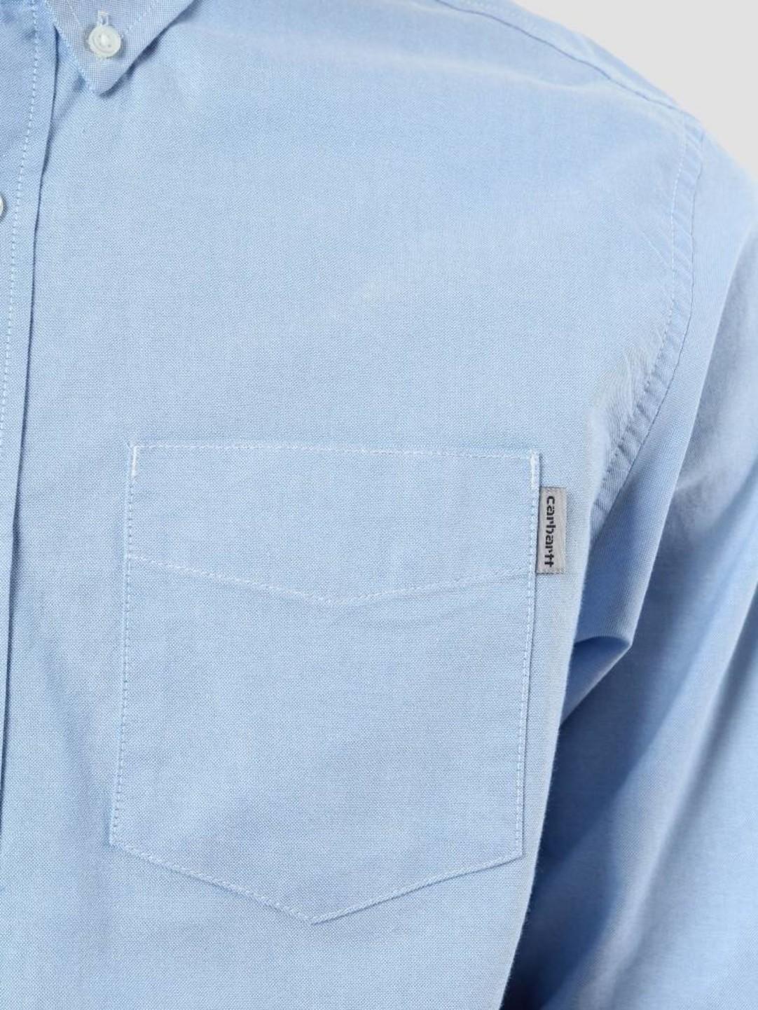 Carhartt WIP Carhartt WIP Button Down Pocket Shirt Bleach I022069-KY90