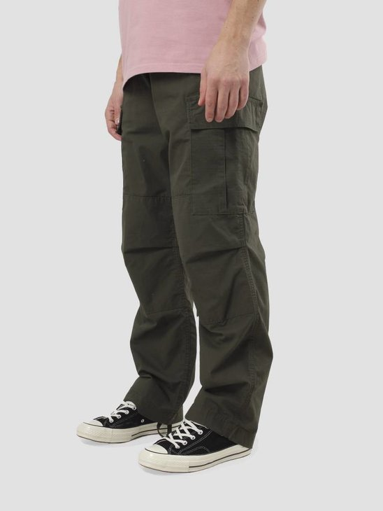 Carhartt WIP Cargo Pant Rinsed Cypress I000949-6302