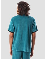 Obey Obey Catalina Btn Up Box Polo Teal 131090037