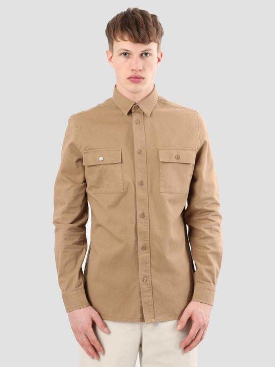 WEARECPH Cech Shirt 1680 Khaki W18123019