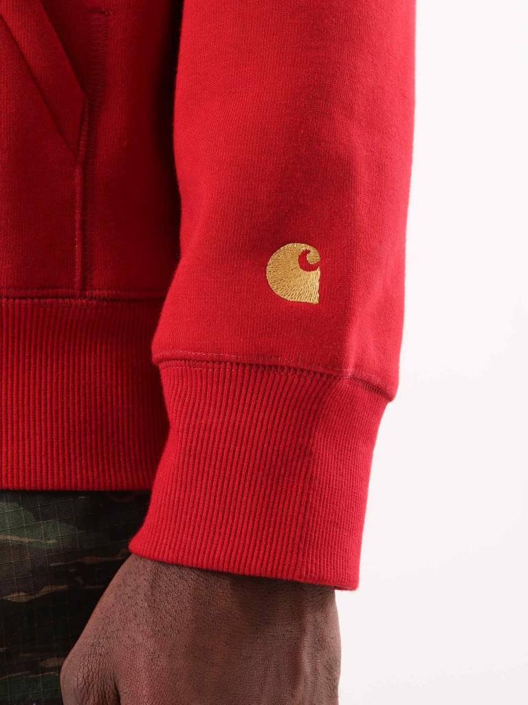 Carhartt Carhartt Chase Hoodie Blast Red Gold I026384-LR90