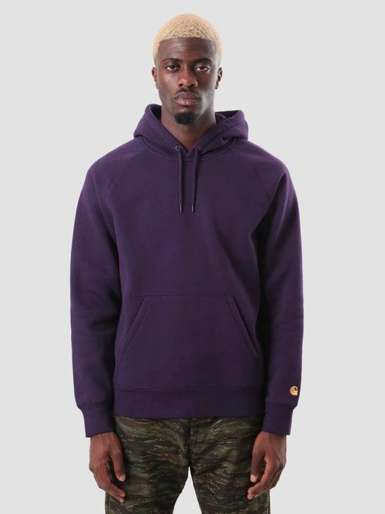 Carhartt WIP Chase Hoodie Lakers Gold I026384-88990