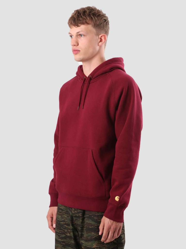 Carhartt Carhartt Chase Hoodie Mulberry Gold I026384-88490